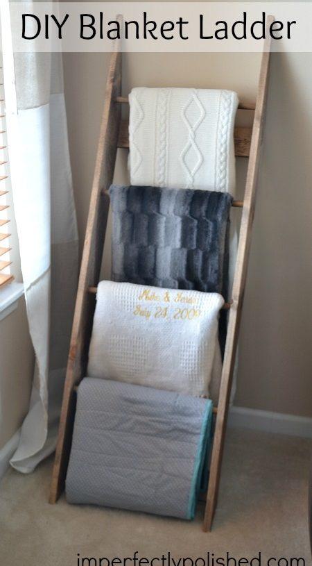Blanket Ladder Shelves