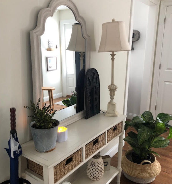 Our Updated Entryway!