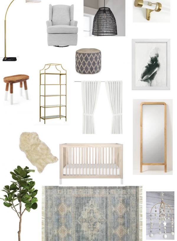 Behind our nursery inspiration