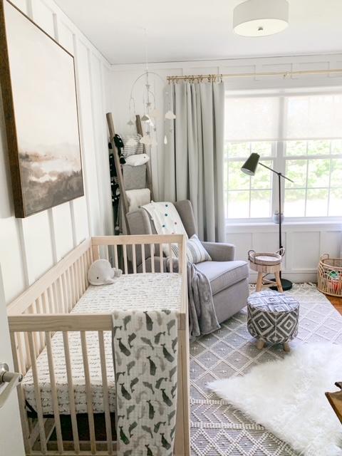 Baby Pitzen's Nursery Reveal
